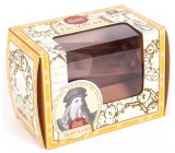 Albi Great Minds Da Vinci dřevěný hlavolam 4,8 x 4,8 x 7,6 cm