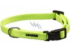 Collar Neon strap green 1.5 x 30-50 cm