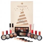Make-up Revolution Advent cosmetic calendar