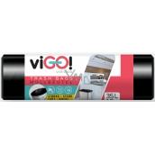 Waste.pytel 35l 15pcs Vigo 50x60cm black 0675