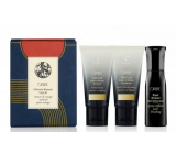 Oribe Ultimate Blowout Gold Lust shampoo for damaged hair 50 ml + conditioner 50 ml + Royal Blowout Travel thermo-active styling mist for the perfect blown 50 ml cosmetic set