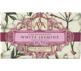 Somerset Toiletry White jasmine luxury three times ground toilet soap 200 g
