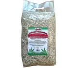 Apetit Johnny Cannabis hemp litter bedding for allergic animals ecological dust-free bedding. 100% natural product 10 l