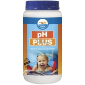 Greased pH Plus 1.2 kg water treatment product in swimming pools