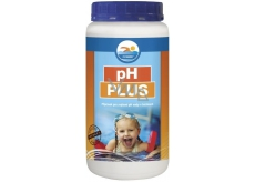 Greased pH Plus 1.2 kg product for water treatment in swimming pools