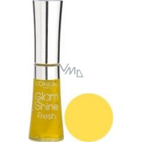 Loreal Glam Shine Fresh Lip Gloss 601 Aqua Lemon Tonic 6 ml