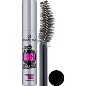 Essence Get Big! Lashes Volume Curl mascara shade black 12 ml