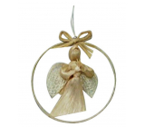 Angel of abaca in circle 8 cm