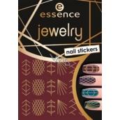 Essence Nail Art Jewelry Nail Stickers 09 1 miniature sheet