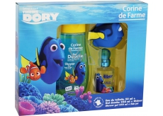 Corine de Farme Disney Looking for Dory eau de toilette for children 50 ml + shower gel 250 ml + bath toy fish, gift set