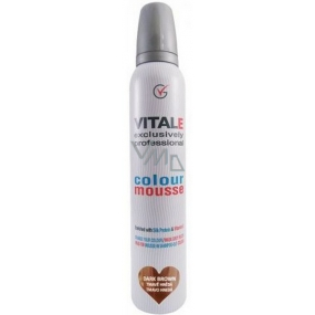 Vitale Exclusively Professional Coloring Mousse With Vitamin E Dark Brown 200 ml