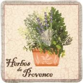 Bohemia Gifts & Cosmetics de Provence decorative tile 10 x 10 cm