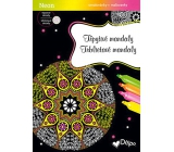 Ditipo Glamorous coloring book Mandaly 21 x 30 cm