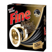 Well Done Fine Black Guard Wash Wipes For Restoring Black Color 12 Pieces