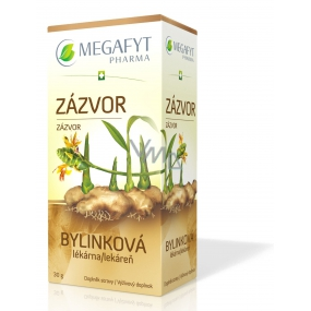 Megafyt Herbal Pharmacy Ginger herbal tea helps digestion, breathing and well-being 20 x 1.5 g