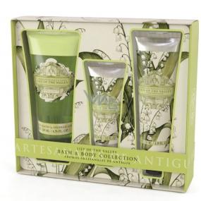 Somerset Toiletry Lily of the valley luxury body cream 130 ml + shower gel 200 ml + luxury hand cream 60 ml, cosmetic set