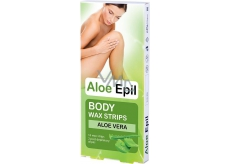 Aloe Epil Body Depilatory Wax Tape For Body 16 + 2 Pieces