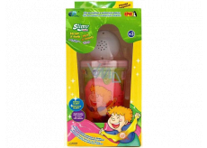 Joker Slimy Slime with glowing and playing ball pink 140 g