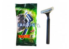 Barton 2-blade swinging razor for men 5 pieces TD702M