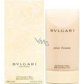 Bvlgari pour Femme shower gel 200 ml