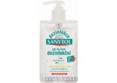 Sanytol Dezinfekce dezinfekční gel na ruce s dávkovačem 250 ml