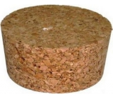 Cork plug 70 x 60 x 40 mm