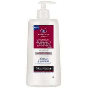 Neutrogena Sensitive Intensive regenerating body lotion very dry sensitive skin 400 ml