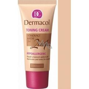 Dermacol Toning Cream 2in1 Makeup Biscuit 30 ml