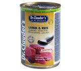 Dr. Clauders Jehněčí s rýží pro dospělé psy 92% masa 400 g