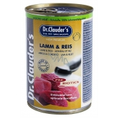 Dr. Clauders Lamb with rice complete super premium food for adults ps 92% meat 400 g