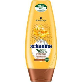 Schauma Nature Moments Honey elixir and prickly pear oil for regeneration and strength hair balm 200 ml