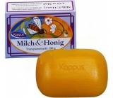 Kappus Milch & Honig Med a mléčný extrakt zklidňující toaletní mýdlo pro děti 100 g