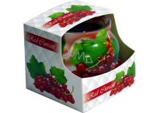 Admit Red Currant - Red currant decorative aromatic candle in glass 80 g