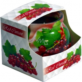 Admit Red Currant - Red currant scented candle in glass 80 g