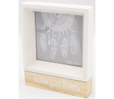 Nekupto Home Decor Wooden photo frame 15 x 12 x 2.5 cm