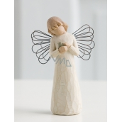 Willow Tree - Angel of Healing - All who bring comfort and care. An angel figure of Willow Tree, height 12.5 cm.