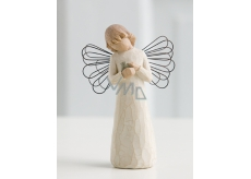 Willow Tree - Angel of Healing - Everyone who brings comfort and care Willow Tree Angel Figurine, height 12.5 cm