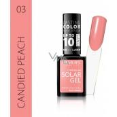 Revers Solar Gel gel nail polish 03 Candied Peach 12 ml