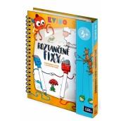 Albi Kvído Dancing felt-tip pens erasable activity book for children 3+ years old