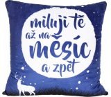 Albi Relaxing pillow large I love you 50 x 50 cm