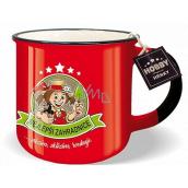 Nekupto Hobby mug with the words Best Gardener 250 ml
