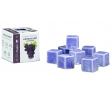 Cossack Black grape natural fragrant wax for aroma lamps and interiors 8 cubes 30 g