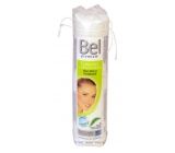 Bel Premium Aloe Vera and Panthenol Cosmetic facial cleansing tampons round 75 pieces