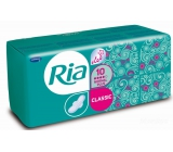 Ria Classic Normal Plus Deo sanitary napkins with wings and fresh fragrance 10 pieces