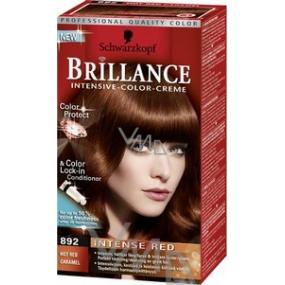 Schwarzkopf Brillance Color Creme hair color 892 hot red caramel 50 ml