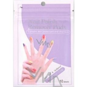 Diva & Nice Nail polish wipes 10 pieces