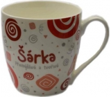 Do not buy Twister mug with the name Šárka red 0,4 liter 072 1 piece