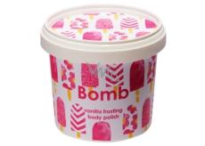 Bomb Cosmetics Vanilková poleva - Vanilla Frosting přírodní tělový peeling 375 g