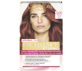 Loreal Paris Excellence Creme hair color 6.66 Intense red