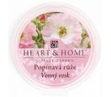 Heart & Home Climbing rose natural fragrant wax 27 g